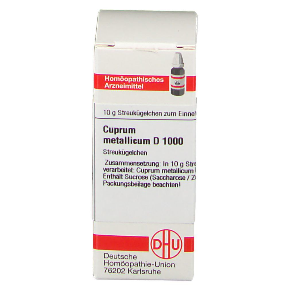 DHU Cuprum Metallicum D1000