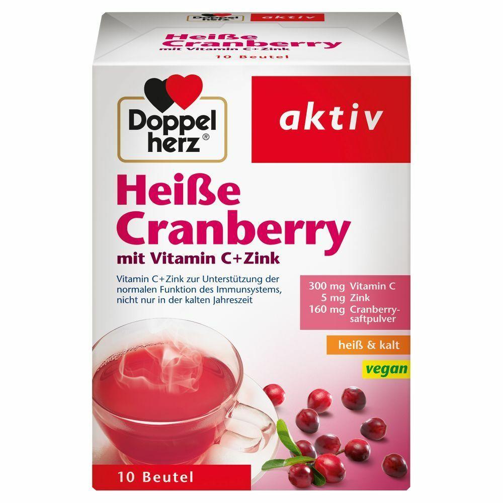 Doppelherz® aktiv Heiße Cranberry mit Vitamin C + Zink