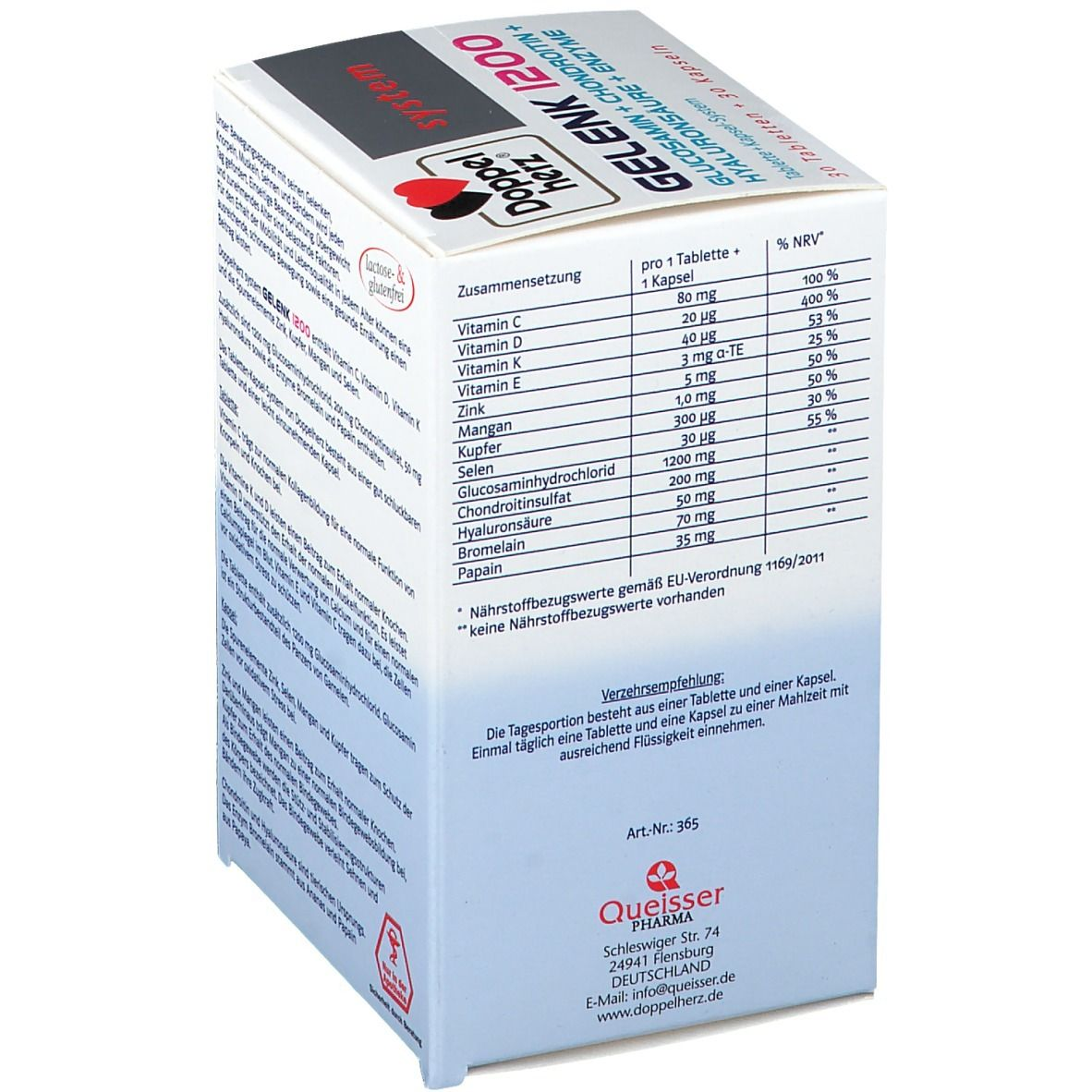 Doppelherz® system Gelenk 1200