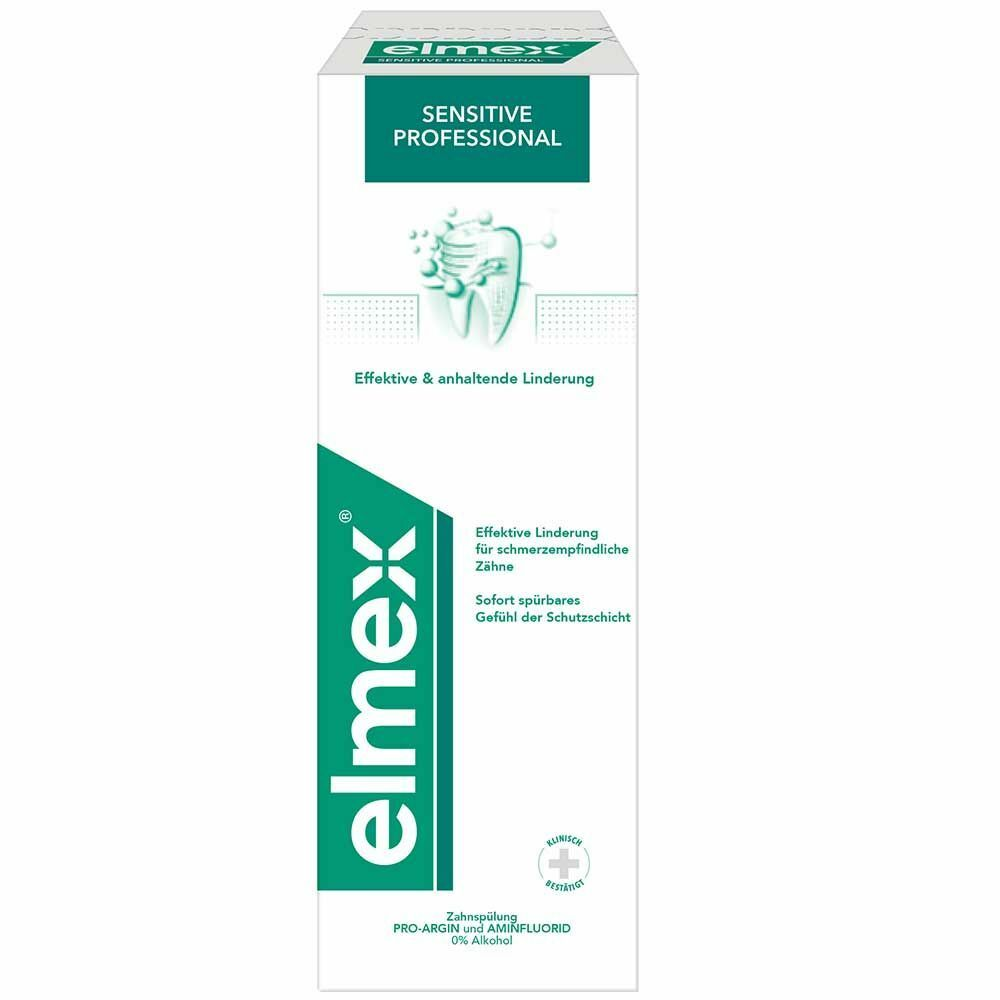 elmex® SENSITIVE PROFESSIONAL™ Zahnspülung 400 ml - shop ...