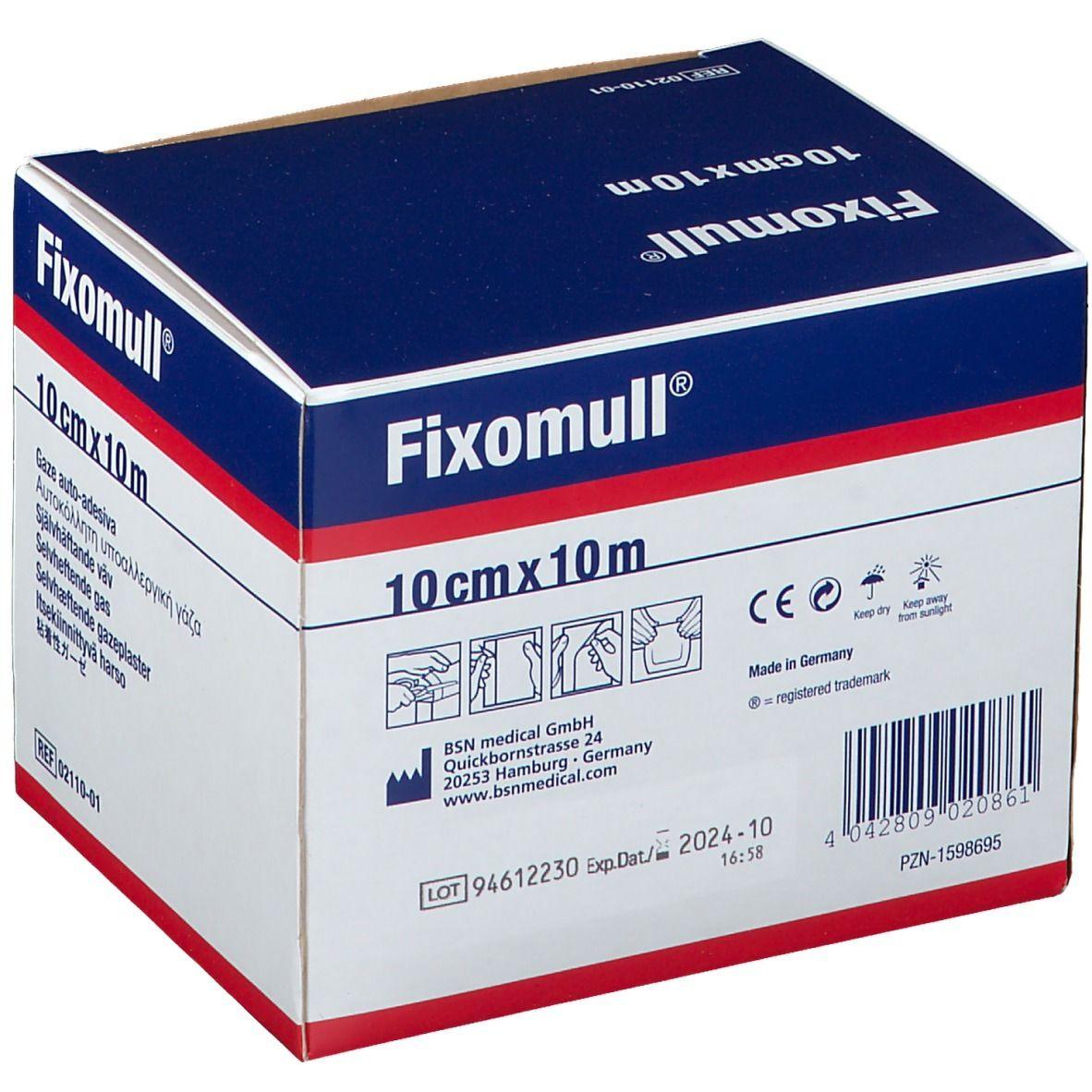 Fixomull® 10 cm x 10 m