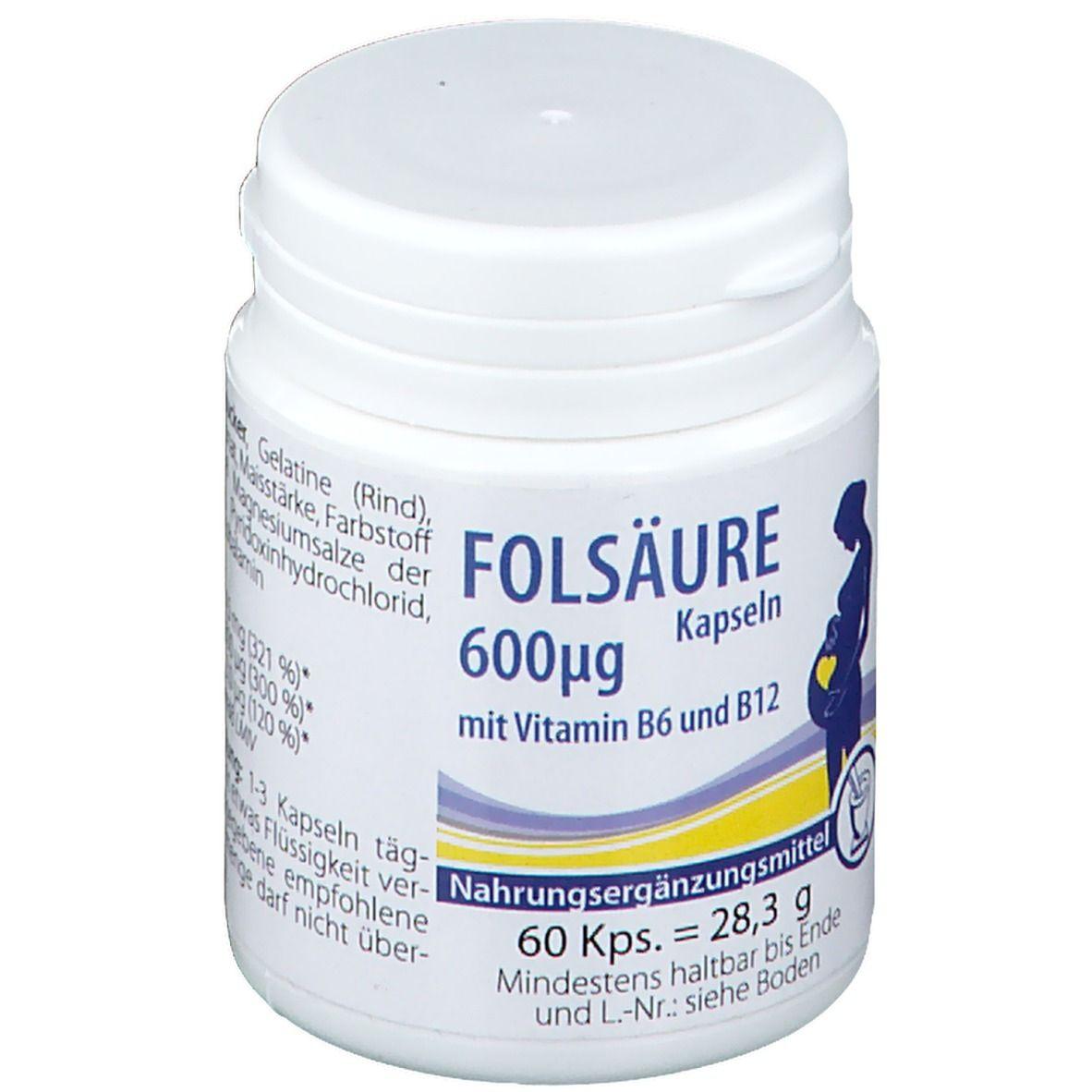 Folsäure Kapseln