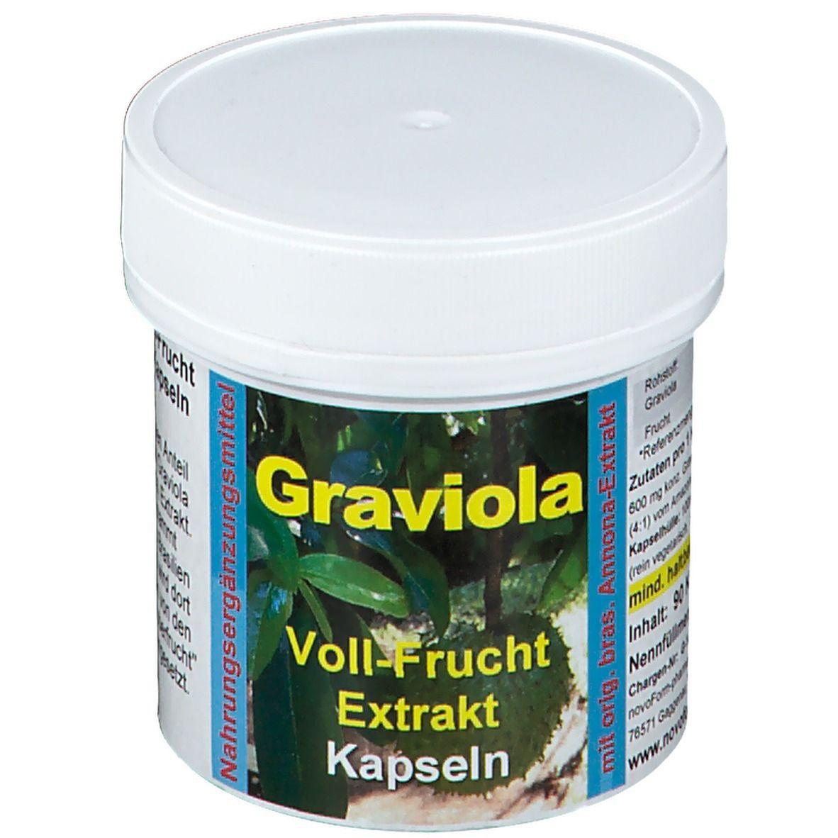 Graviola zum Abnehmen