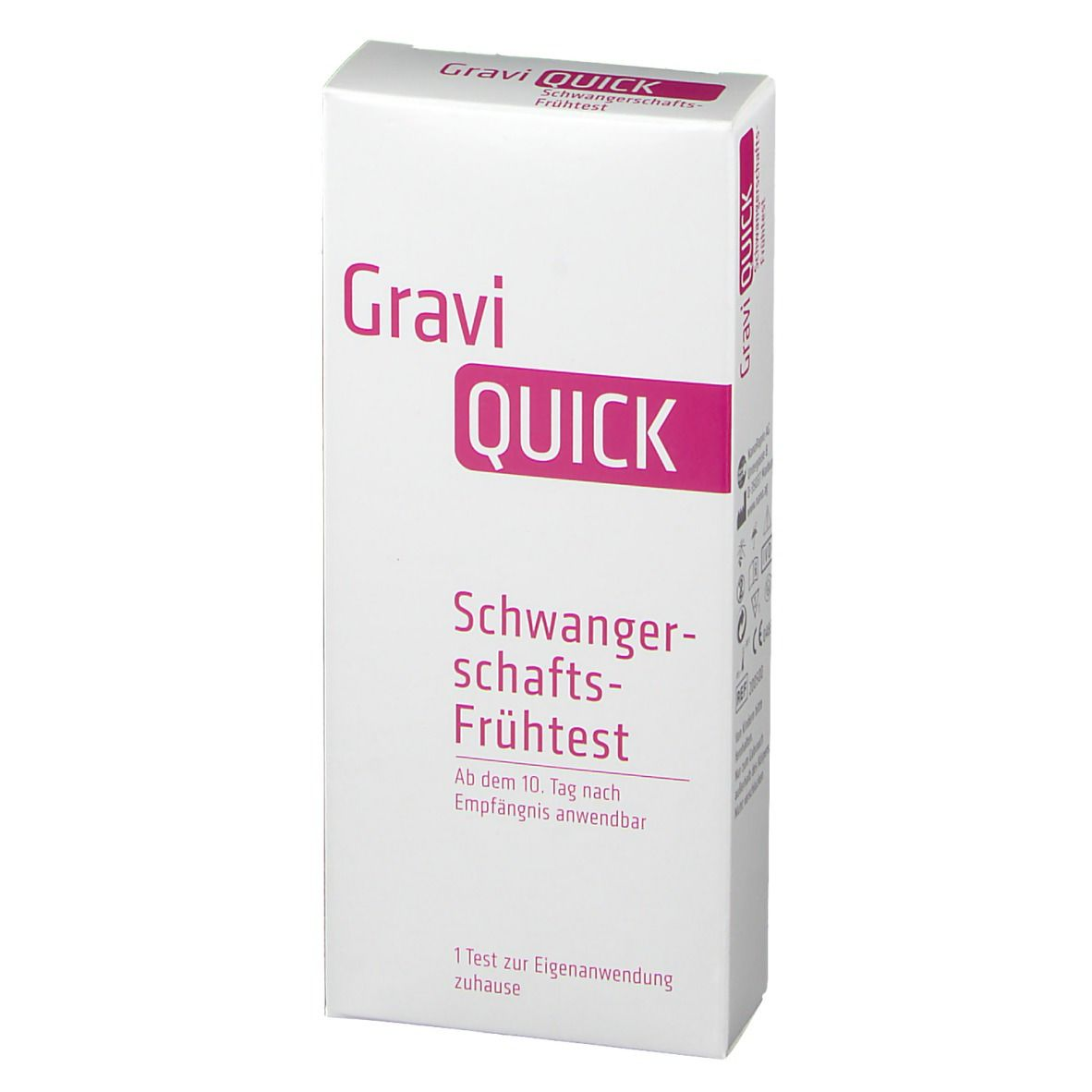 GraviQUICK® Schwangerschaft-Frühtest
