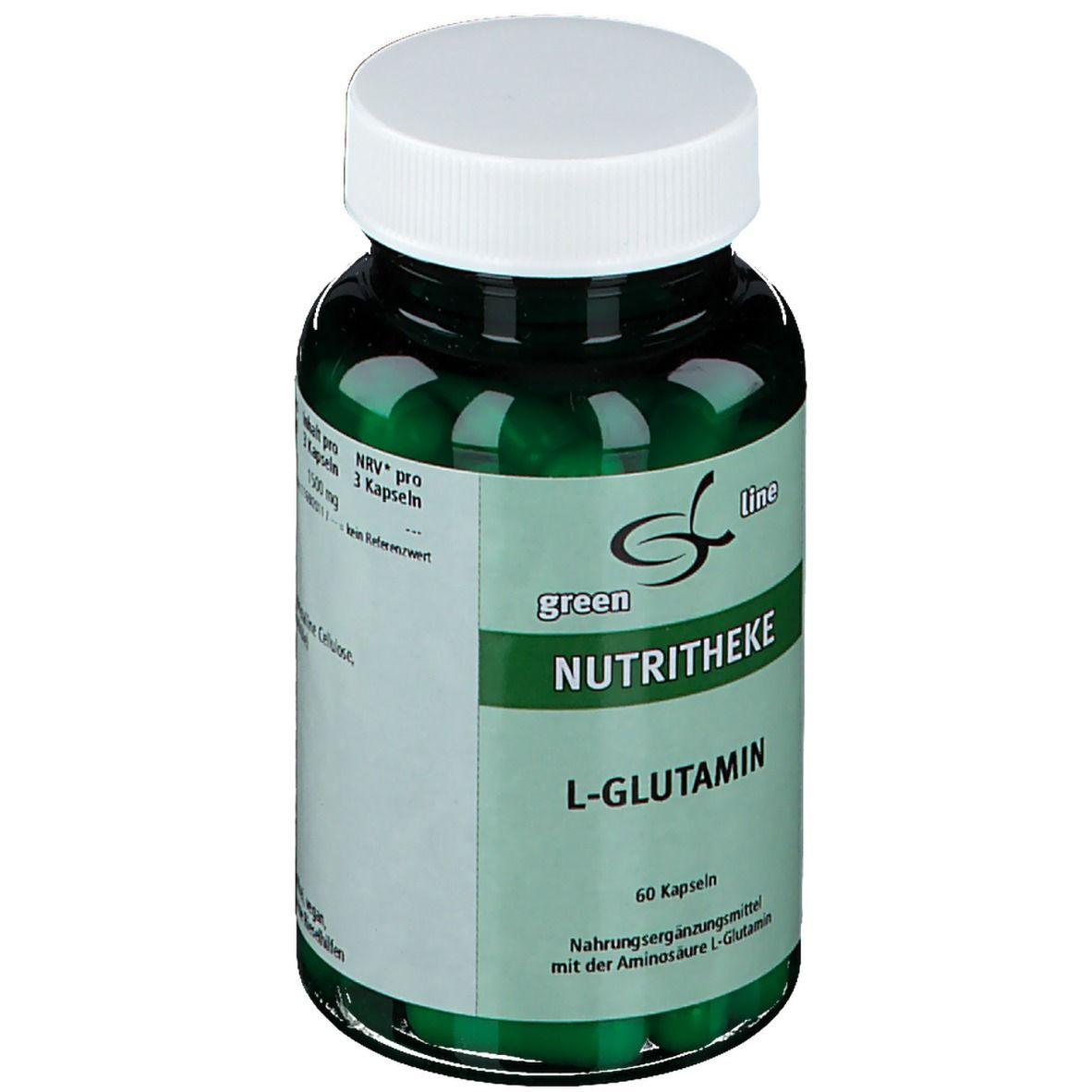 green line L-Glutamin