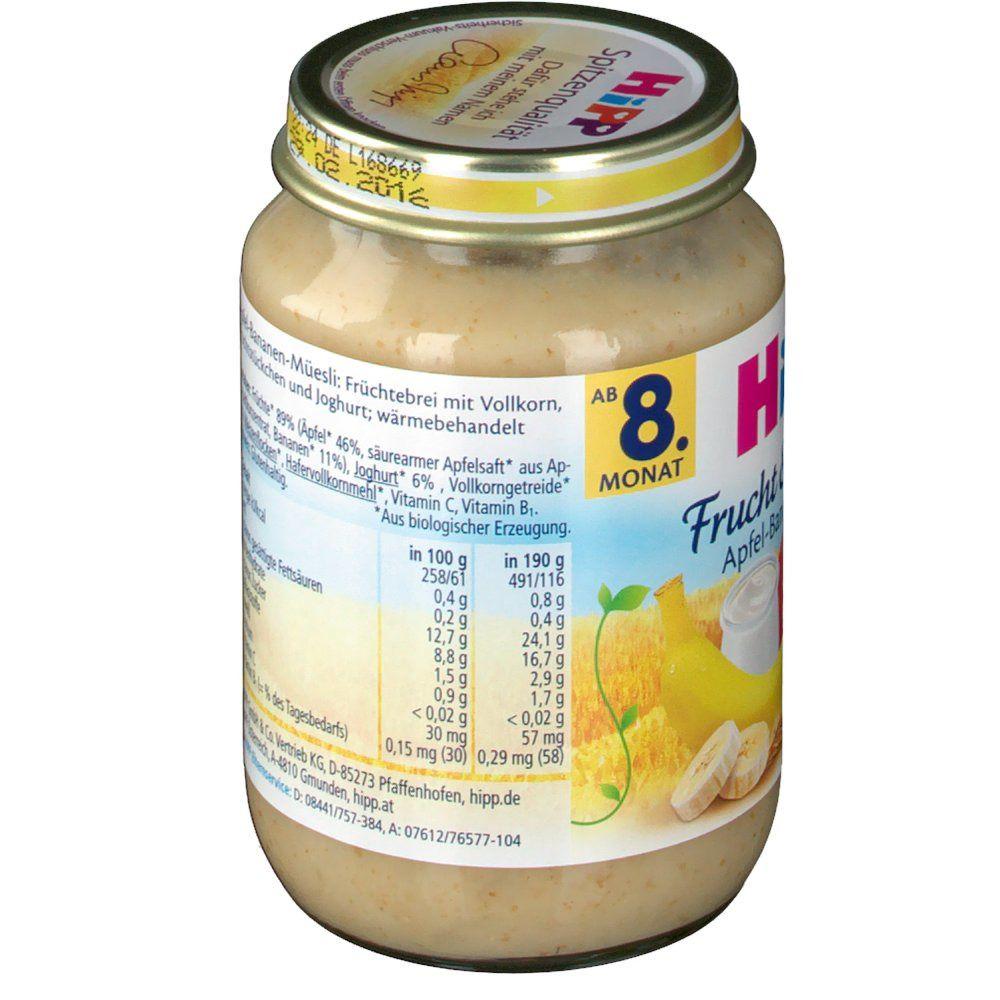 HiPP Frucht & Getreide Apfel-Bananen-Müesli