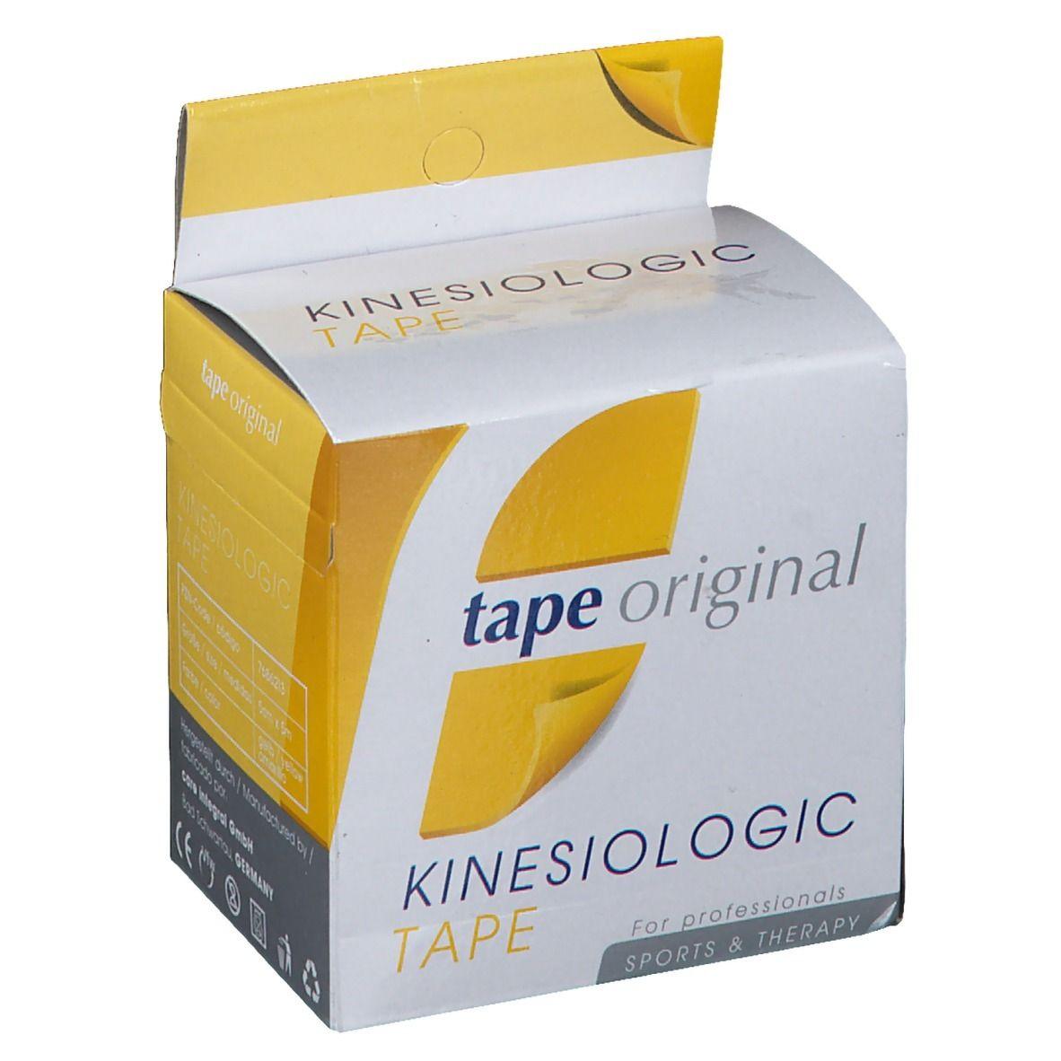 Kinesio tape original Kinesiologic Tape gelb 5 cm x 5 m