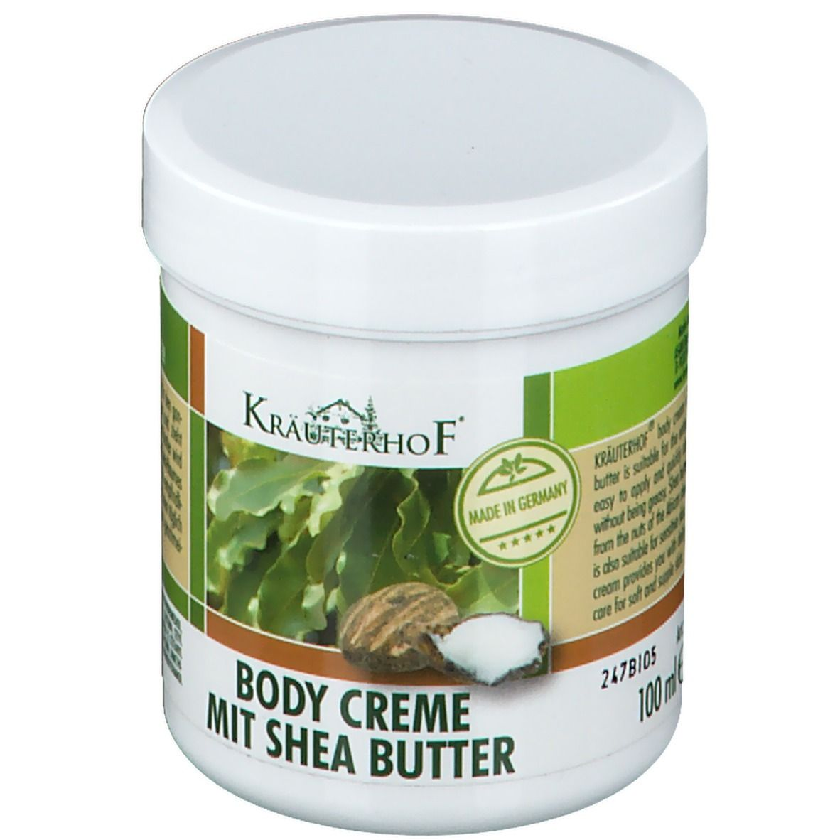 Kräuterhof® Body Creme mit Sheabutter
