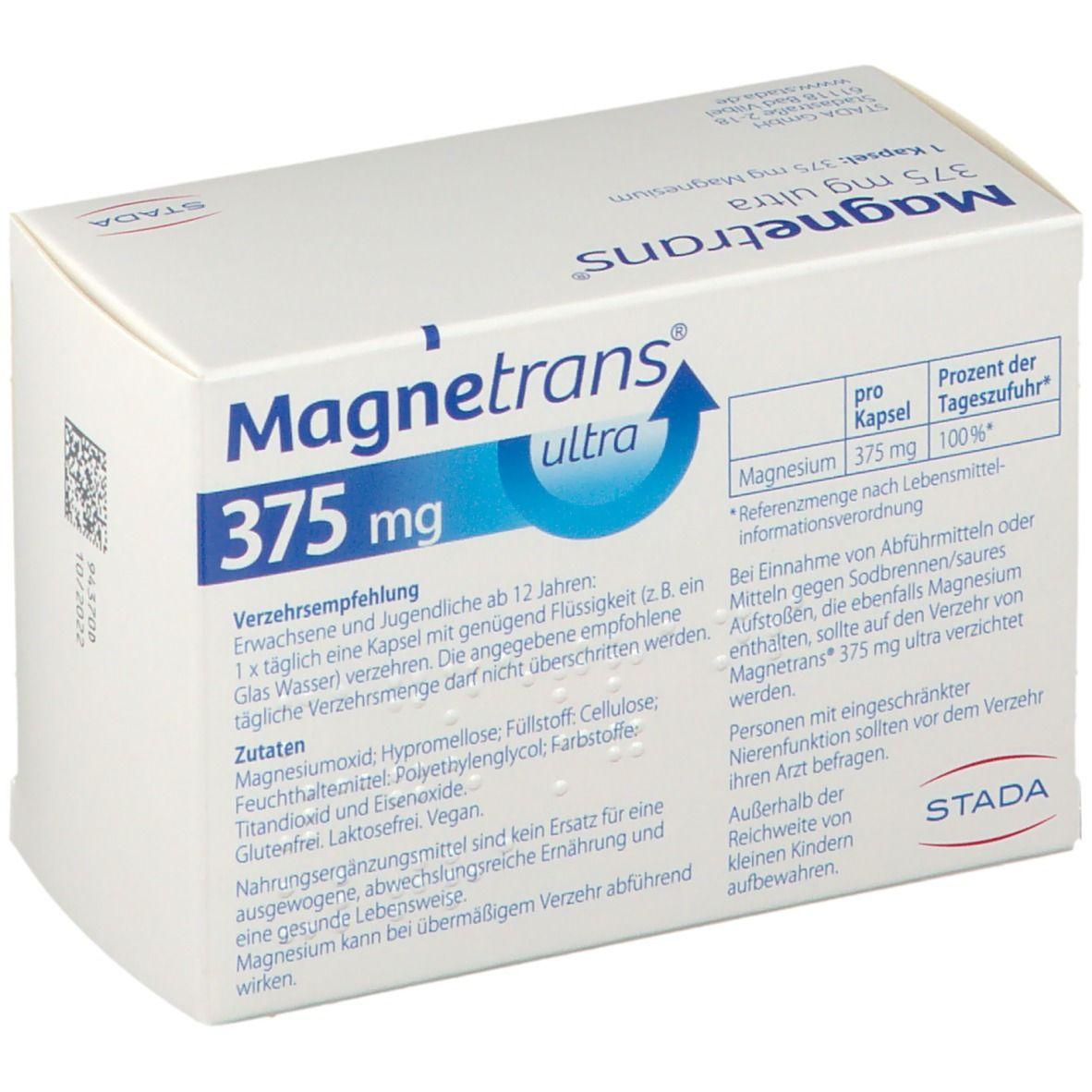 Magnetrans® ultra Kapseln 375 mg