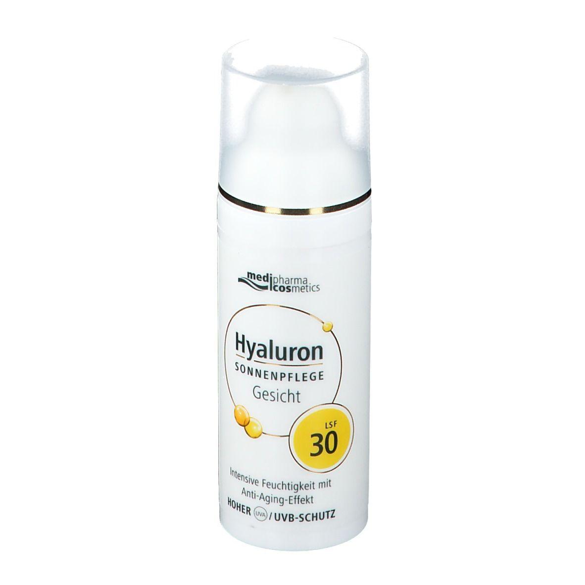 medipharma cosmetics Hyaluron Sonnenpflege Gesicht LSF 30