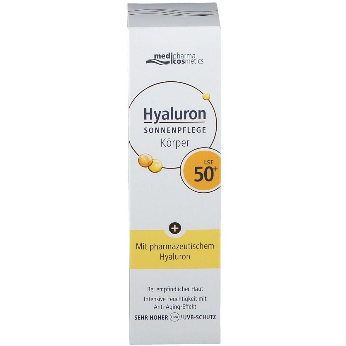 medipharma cosmetics Hyaluron Sonnenpflege Körper LSF 50+