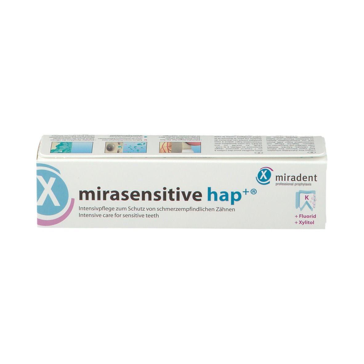 miradent mirasensitive hap+ Zahncreme