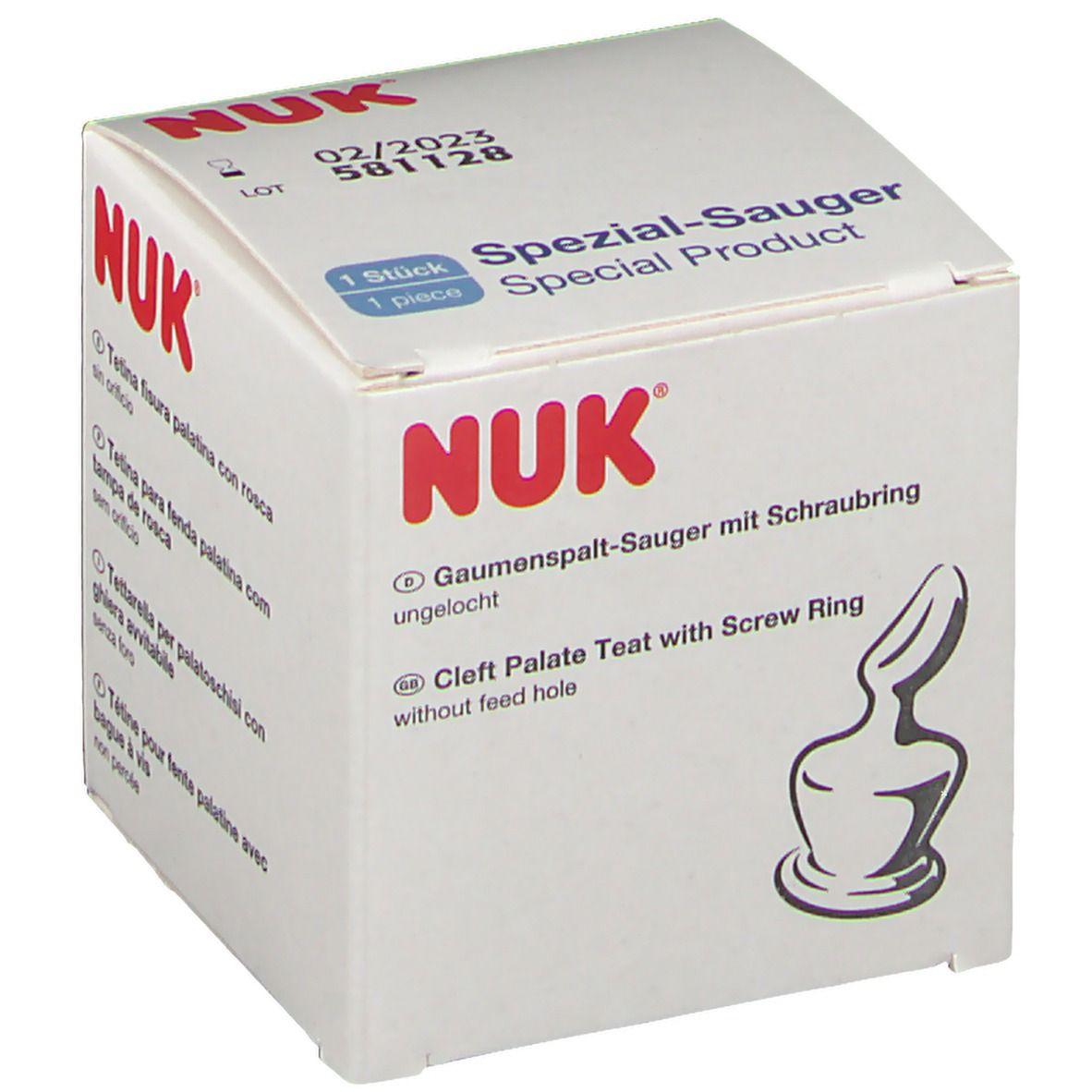 NUK® Gaumenspaltsauger