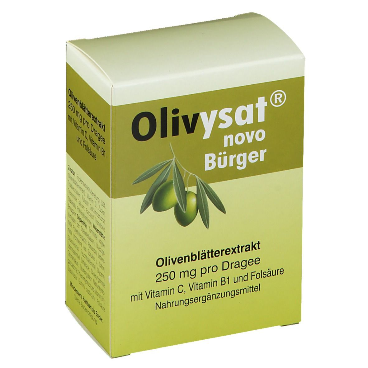 Olivysat® novo Bürger Dragees