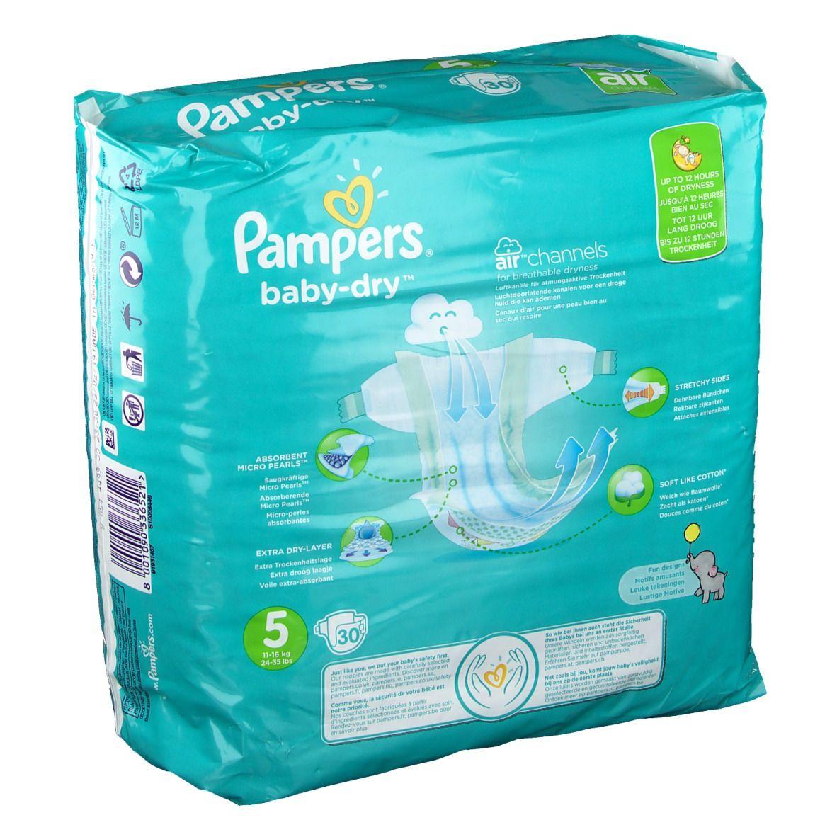 Pampers® Baby Dry Gr5 Junior 11 - 23 kg Sparpack