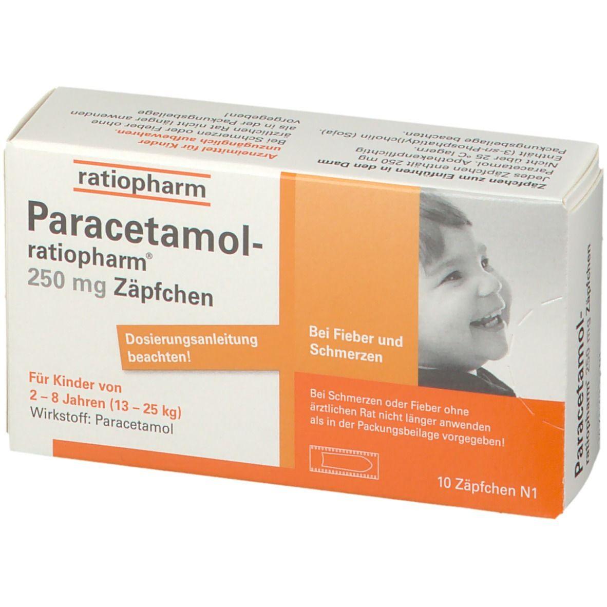 Wie Schnell Wirkt Paracetamol Zäpfchen
