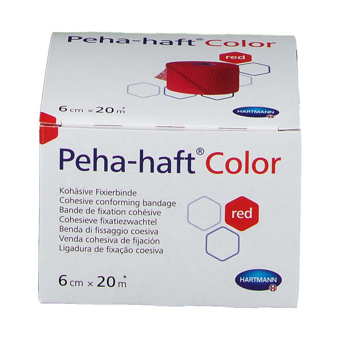 Peha-haft® Color latexfrei 6 cm x 20 m