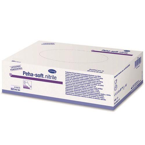 Peha-soft® nitrile puderfrei steril Untersuchungshandschuhe Gr. M 7 - 8