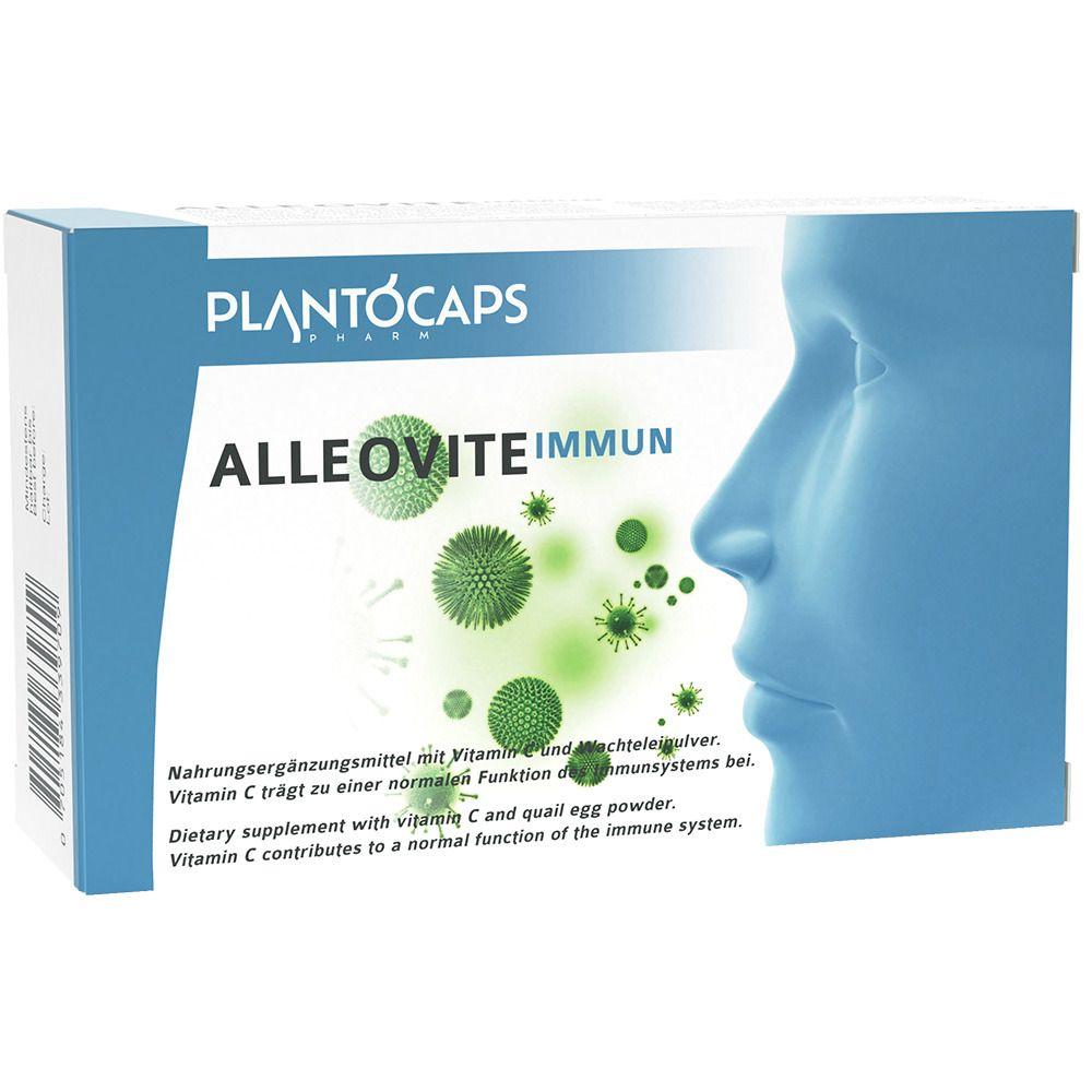 plantoCAPS® ALLEOVITE® IMMUN