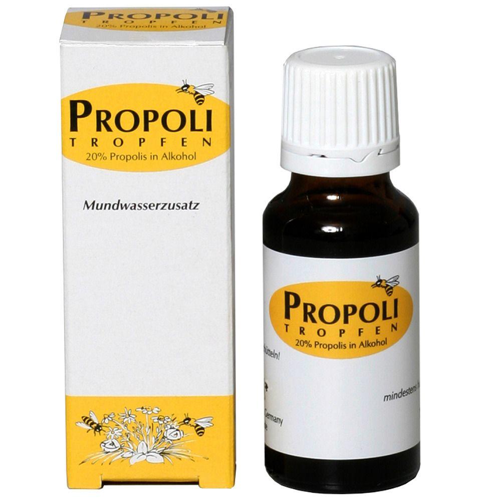 Propolis Tropfen in Alkohol