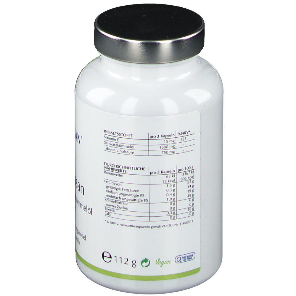 Schwarzkümmelöl Kapseln 500 mg