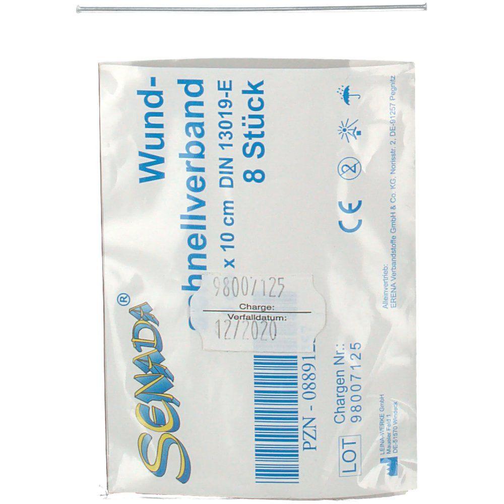 Senada® Wundschnell Verband 10 cm x 6 cm
