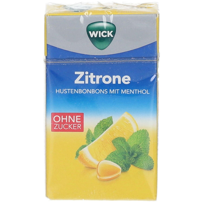 WICK Zitrone & natürliches Menthol ohne Zucker
