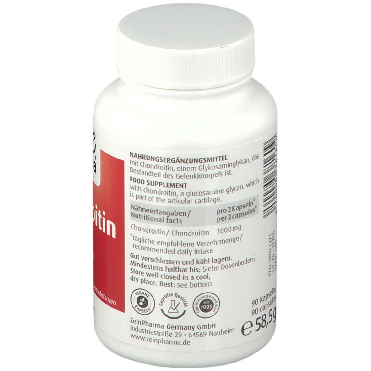 ZeinPharma® Chondroitin 500 mg